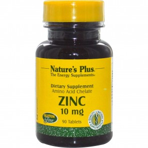 Nature's Plus Zinc 10 mg 90 Tablets