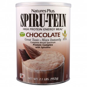 Nature's Plus Spiru-Tein High Protein Energy Meal Chocolate 2.1 lbs (952g)