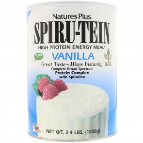 Nature's Plus Spiru-Tein High Protein Energy Meal Vanilla 2.4 lbs (1088g)