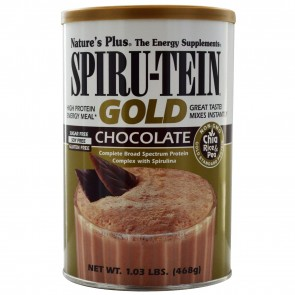 Nature's Plus Spiru-Tein Gold High Protein Energy Meal Chocolate 1.03 lbs (468 g)