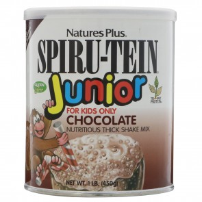 Nature's Plus Spiru-Tein JUNIOR Nutritious Milkshake Chocolate 1.09 lbs (495g)
