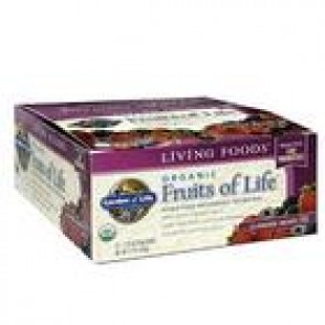 Garden Of Life Fruits of life Summer Berry bar 2.25 oz - Pack of 12