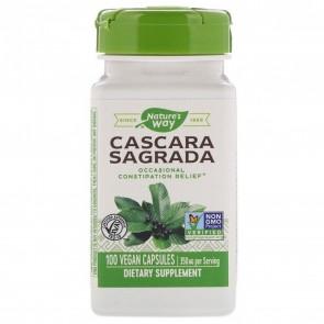Nature's Way Cascara Sagrada 100 Capsules 350mg