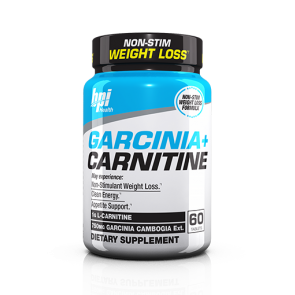 BPI Health Garcinia + Carnitine 60 Tablets