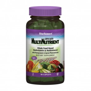 Bluebonnet Super Earth MultiNutrient Iron Free 90 Caplets