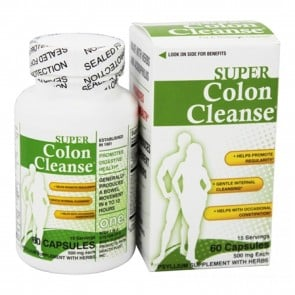 Super Colon Cleanse 60 Capsules by Health Plus
