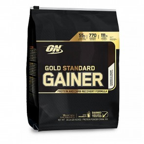 Gold Standard Mass Gainer Protein Cookies and Cream 10 Lbs