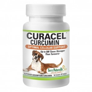 Terry Naturally Curacel Curcumin for Dogs | Curacel Curcumin for Dogs