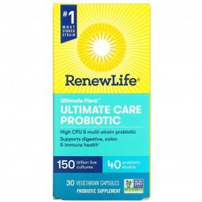 Renew Life Ultimate Flora Ultimate Care 150 Billion 30 Vegetarian Capsules