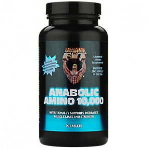 Anabolic Amino 10,000 90 Tablets by Healthy N Fit