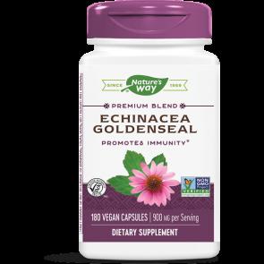 Nature's Way Echinacea Goldenseal 450 mg 180 Capsules