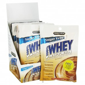 Biochem 100% Whey Protein Chocolate Fudge 10 Packs