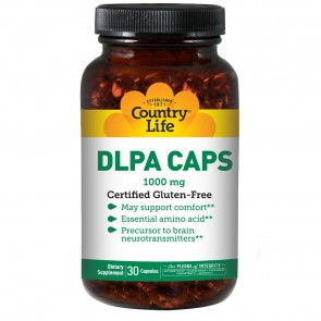Country Life Dl Phenylalanine 1000 Mg 30 Capsules