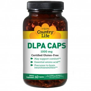Country Life Dl Phenylalanine 1000 Mg 60 Capsules