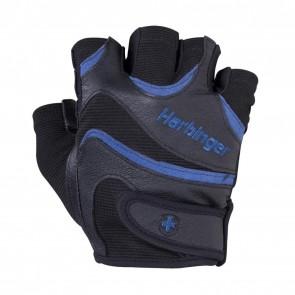 Harbinger: FlexFit Gloves Black/Blue Small (13810)