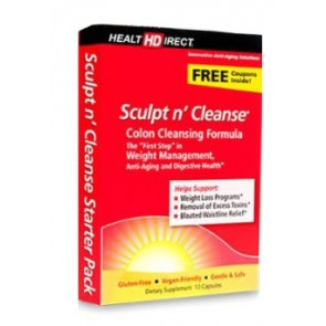 Health Direct Sculpt n' Cleanse 10 Capsules