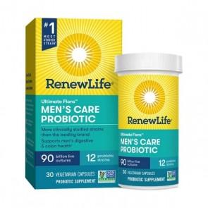 Renew Life Ultimate Flora Probiotic Men's Care 90 Billion 30 Vegetarian Capsules