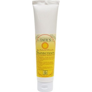 Tate'sThe Natural Miracle Sunscreen SPF30, 4 oz