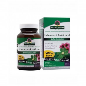 Natures Answer Echinacea and Goldenseal Root Capsules