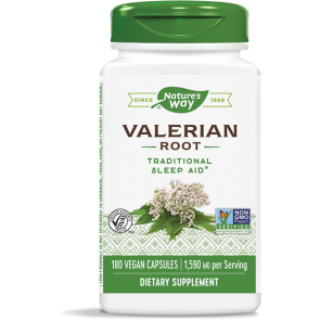 Nature's Way Valerian Root 1,590 mg 180 Capsules