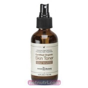 Skin Toner, Certified Organic 4fl oz Janson-Beckett