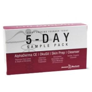AlphaDerma 5 Day Sample Pack Janson Beckett