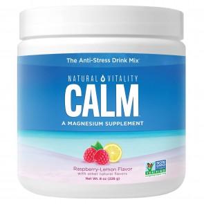 Natural Vitality Natural Calm Raspberry Lem on 8 oz