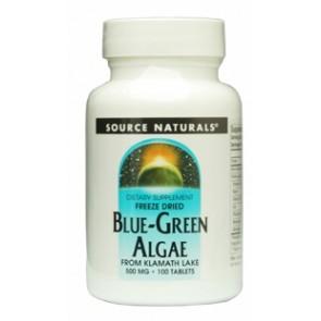 Source Naturals Blue-Green Algae 500mg 100 Tablets