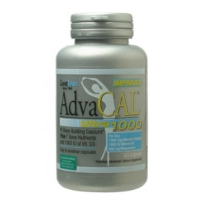 AdvaCAL Ultra 1000 IU 120 Capsules by Lane Labs