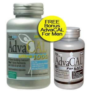 Lane Labs AdvaCAL Ultra 1000 for Men 120 Capsules