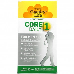 Country Life Core Daily 1 For Men 50 + 60 Tablets