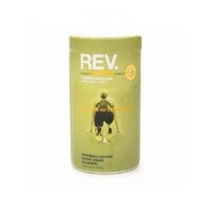 Rev Trainer's Epsom Formula 15 Minute Muscle Soak 100% Natural Epsom Salt w Essential Oils - Trainers Muscle Relief Formula, Eucalyptus, Spearmint, 32 OZ.