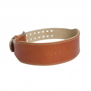 Leather WeightLifting Belt Harbinger Classic 4""