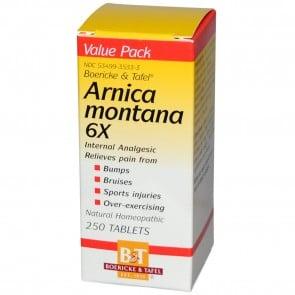 Boericke & Tafel, Arnica Montana 6X, 250 Tablets