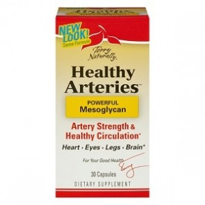 Terry Naturally Healthy Arteries 30 Capsules | Healthy Arteries 30 Capsules