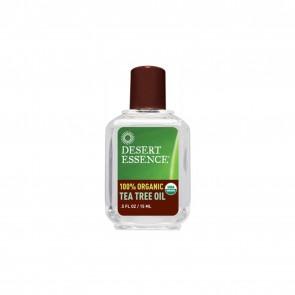 Desert Essence 100% Organic Tea Tree Oil .5 fl oz