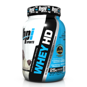 BPI Whey HD Milk and Chocolate 1.7 lbs