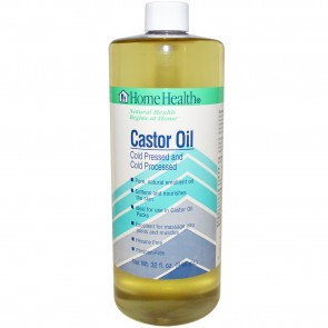Home Health Castor Oil, Cold Pressed and Cold Processed, 32-Ounces
