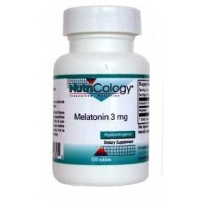 NutriCology Melatonin 3 mg 120 Tablets