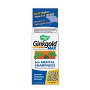 Ginkgold Max 30 tablet by Nature's Way