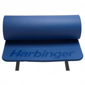 "Ribbed Durafoam Mat 5/8"" Blue by Harbinger"