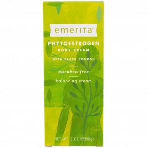 Emerita Phytoestrogen Body Cream 2 oz (56 g)
