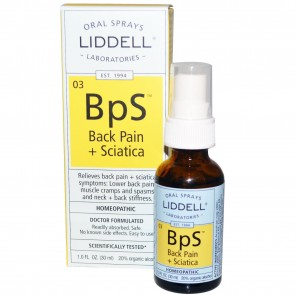 Liddell Laboratories BpS Back Pain Sciatica Oral Spray 1 oz