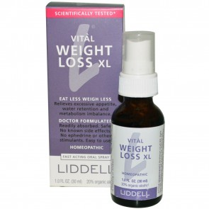 Liddell Laboratories - Vital Weight Loss XL Homeopathic Oral Spray - 1 oz