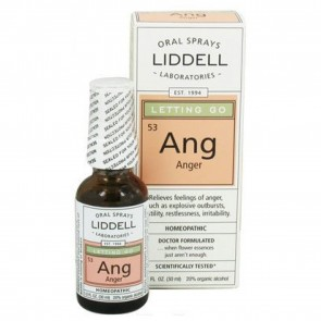 Liddell Laboratories Ang Letting Go Anger Oral Spray 1 oz