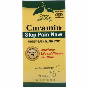 Terry Naturally Curamin Stop Pain Now 120 Capsules