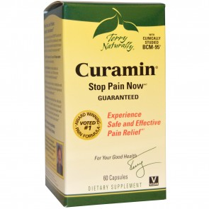 Terry Naturally Curamin Stop Pain Now 60 Capsules