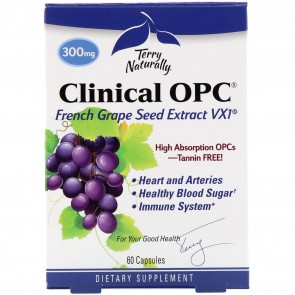 Terry Naturally Clinical OPC 300 mg 60 Capsules