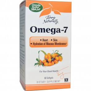 Terry Naturally Omega-7 60 Softgels