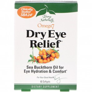 Terry Naturally Omega7 Dry Eye Relief 60 Softgels